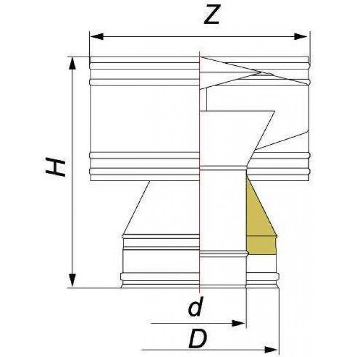 Чертеж Дефлектор DDH (Вулкан)