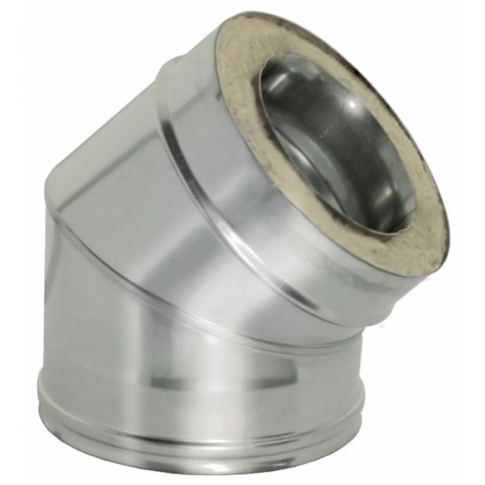 Отвод OTFR 45° (Дымок)