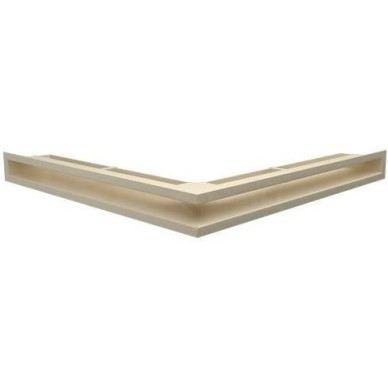 Решетка каминная Люфт угловая стандарт 60 (Kratki)