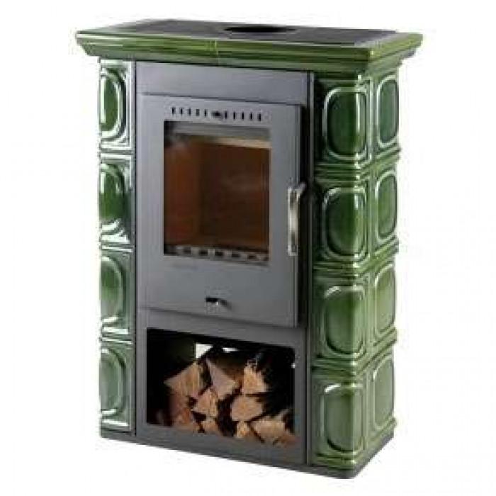 Зеленый Печь BORGHOLM Keramik (Thorma)