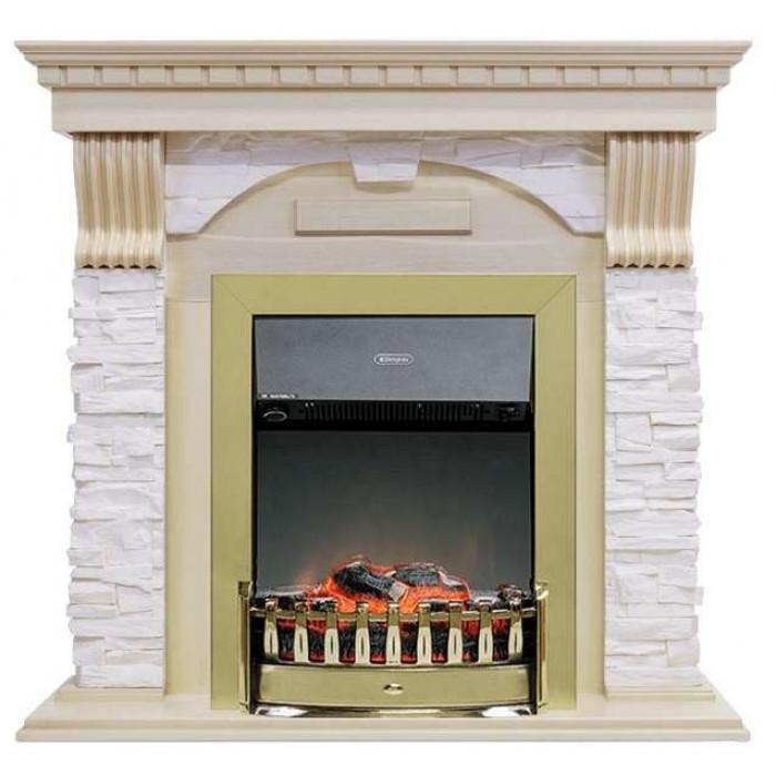 Портал Dublin арочный сланец крем (Royal Flame)