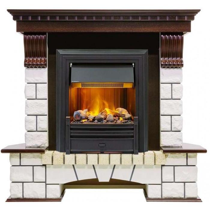 Портал Pierre Luxe Classic угловой (Royal Flame)