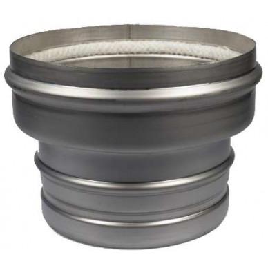 Переходник TF1000 керамика-сталь двухходовой (Schiedel)